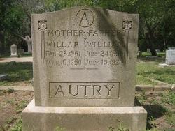 Addie Willar <i>Hargis</i> Autry