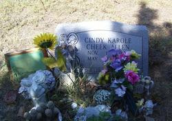 Cindy Karole <i>Cheek</i> Allen