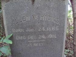 Allen W. Hicks