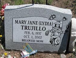 Lydia Mary Jane <i>Acosta</i> Trujillo