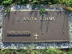 Edith Anita <i>Jones</i> Adams