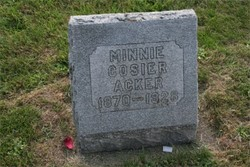 Minnie <i>Cosier</i> Acker