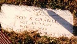 Sgt Roy Kennedy Grabill