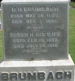 Susan H <i>Everett</i> Brumbach