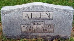 Mary C <i>Webb</i> Allen
