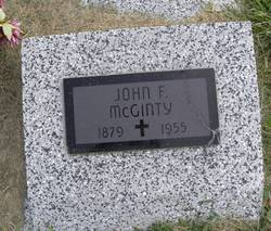 John F McGinty