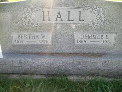 Bertha May <i>Wright</i> Hall