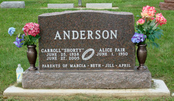 Carroll Shorty Anderson
