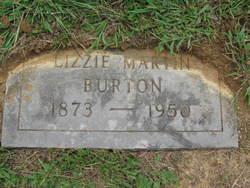 Lizzie <i>Martin</i> Burton