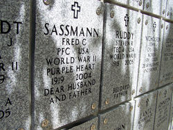 PFC Fred C Sassmann