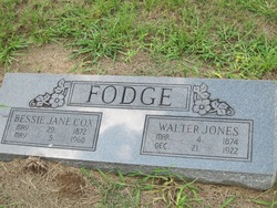 Walter Jones Fodge