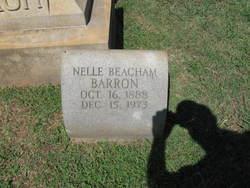 Nellie <i>Beacham</i> Barron
