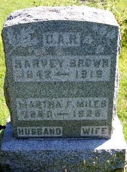 Martha F <i>Miles</i> Brown