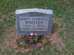 Mary Carole Wheeler
