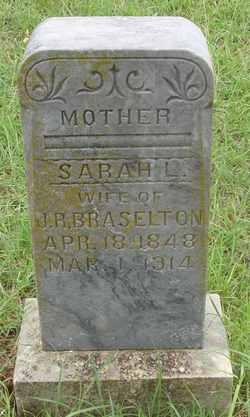 Sarah L <i>Rogers</i> Braselton