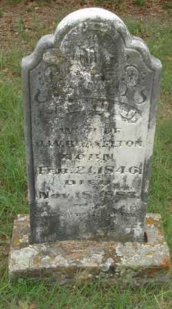 Sarah Jane <i>Cox</i> Braselton