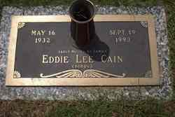Eddie Lee Bobby Cain
