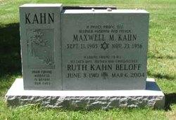 Ruth <i>Kahn</i> Beloff
