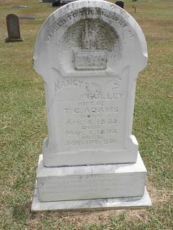 Nancy Ella <i>Gulley</i> Adams