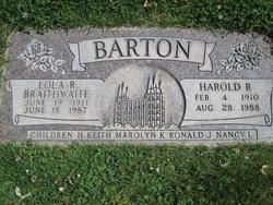 Harold Redd Barton