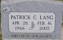 Patrick Lang