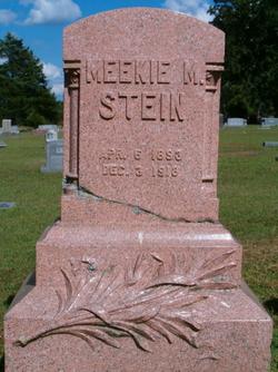 Meekie M <i>Eblen</i> Stein