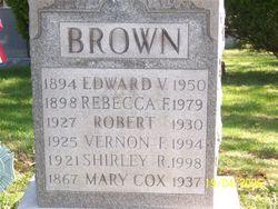 Rebecca F <i>Cox</i> Brown