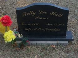 Betty Lee <i>Hall</i> Franco