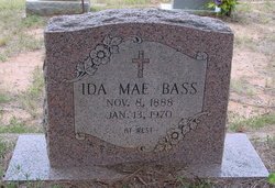 Ida Mae <i>Lee</i> Bass