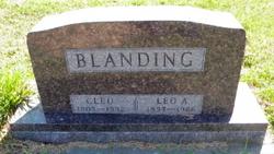 Cleo Helen <i>Briggs</i> Blanding
