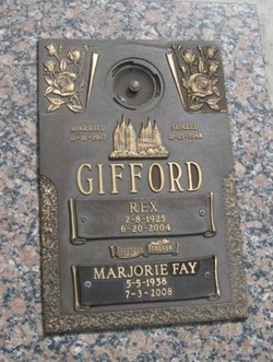 Marjorie Fay <i>Peterson</i> Gifford