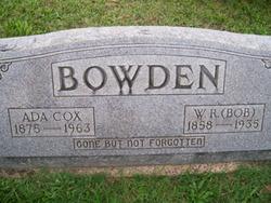 Ada Frances <i>Cox</i> Bowden
