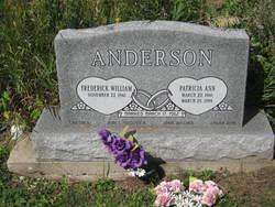 Patricia Ann Patty <i>Van Sickle</i> Anderson
