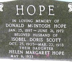 Donald McIntosh Hope