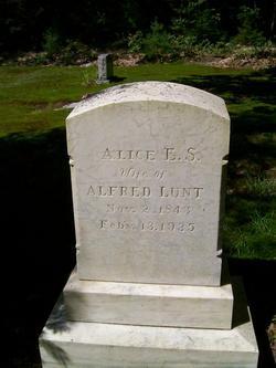 Alice E. <i>Simpson</i> Lunt