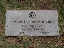 Theodore Frank Heidenfelder