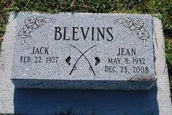 Rev Jean C <i>Curtis</i> Blevins