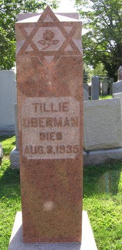 Tillie <i>Dudelsack</i> Oberman