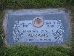 Marian <i>Lynch</i> Abrams