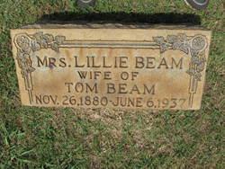 Lillian Lillie <i>Austin</i> Beam
