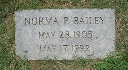 Norma P Bailey