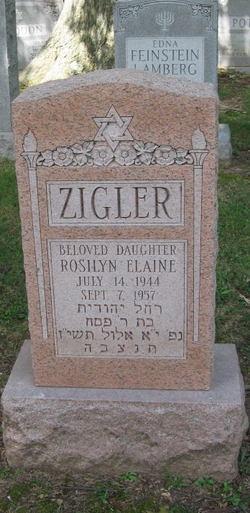 Rosilyn Elaine Zigler