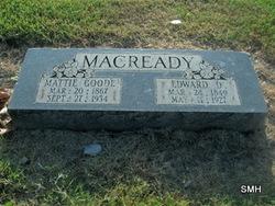 Mattie <i>Goode</i> Macready