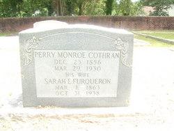 Sarah Elizabeth Bettie <i>Furqueron</i> Cothran