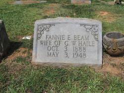 Fannie Eugenia Jennie <i>Beam</i> Haile