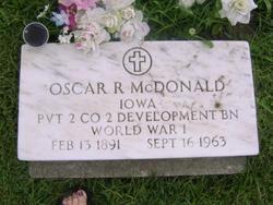 Oscar Robert McDonald