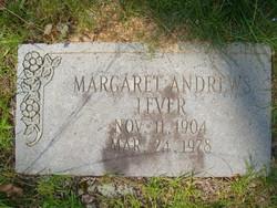 Margaret Elizabeth <i>Andrews</i> Lever