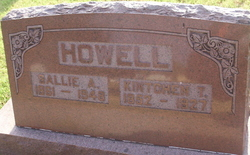 Sallie A <i>Smith</i> Howell