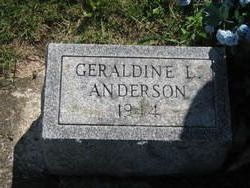 Geraldine L Anderson