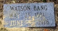 Watson Bang
